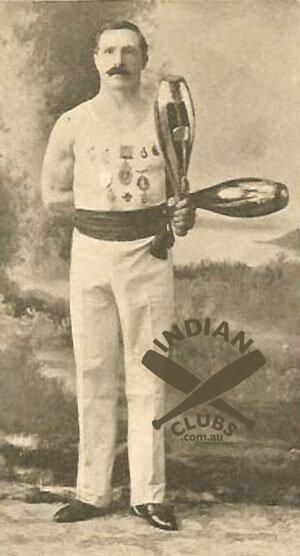Tom Burrows, Australian endurance Indian Club Swinging champion