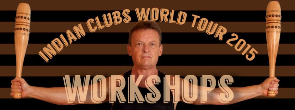 Indian Clubs World Tour 2015