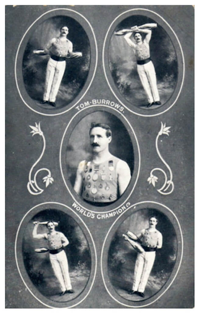 Tom Burrows Postcard