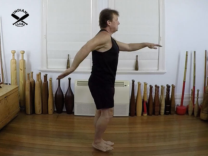 A common mistake and shoulder mobility Marching