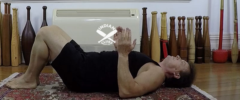 A common mistake and shoulder mobility Supine in