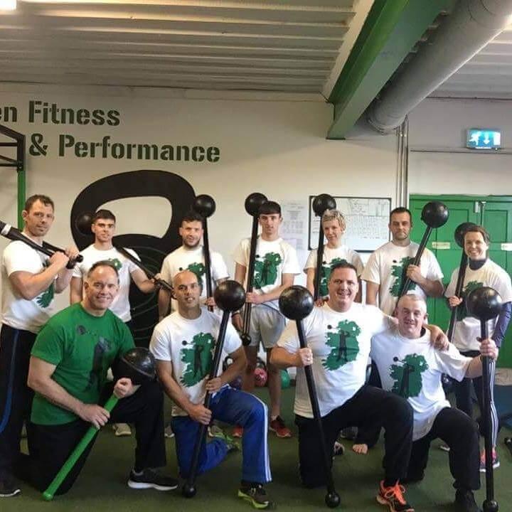 Rik Brown Ireland group shot