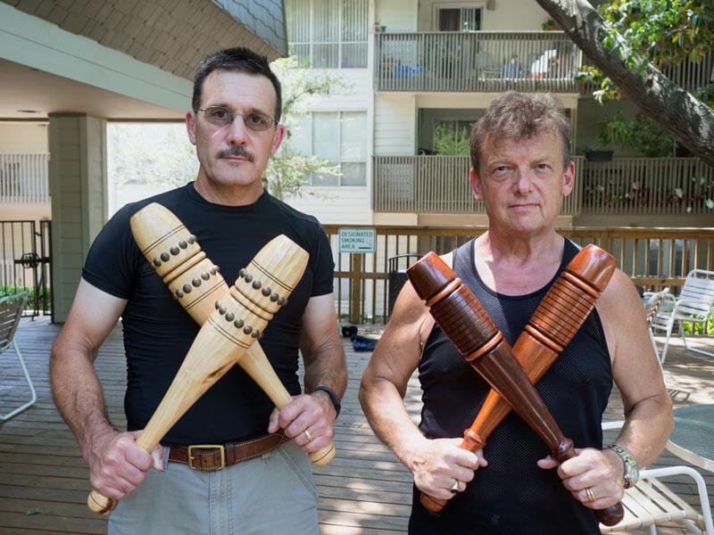 Mark Hogan and Paul Taras Wolkowinski