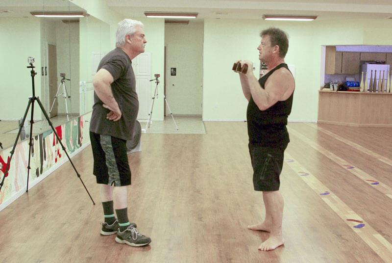 Mike Romiski and Paul Taras Wolkowinski workshop