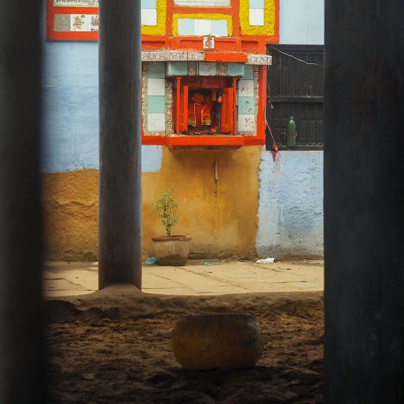 Gyanshankul Singh hanuman Shrine