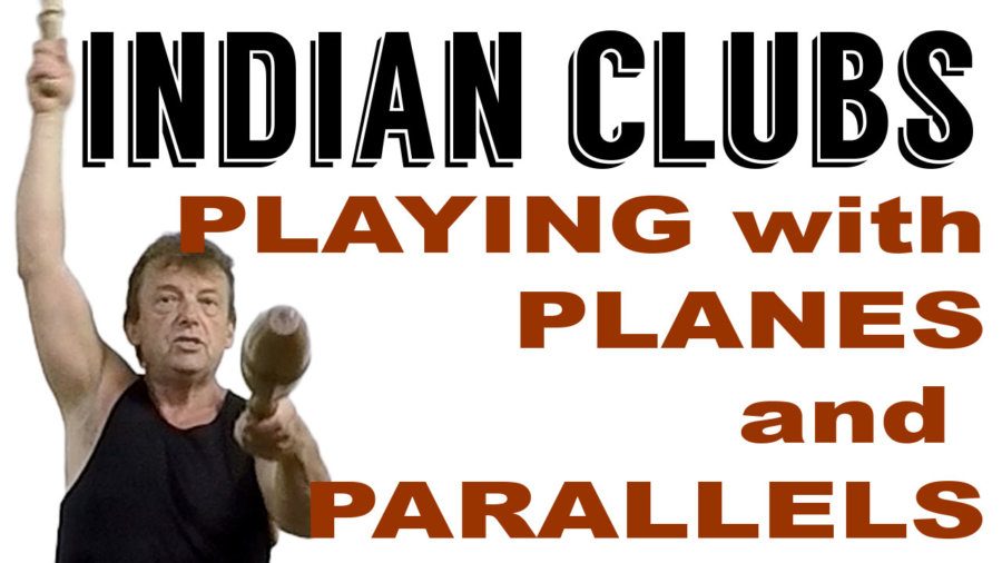 Indian Clubs PLAYING with PLANES and PARALLELS