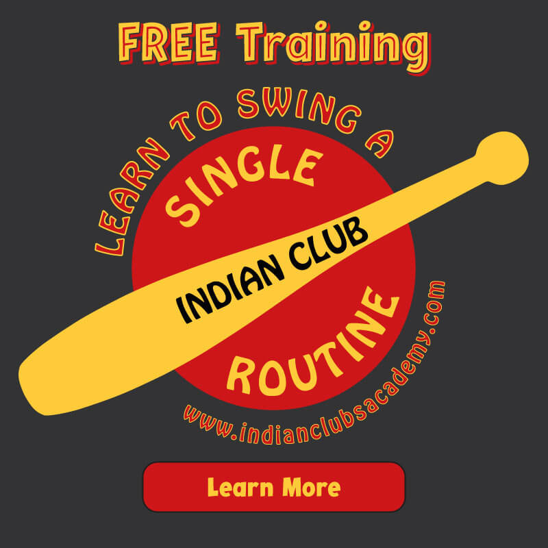 Free Training for Indian Club Beginners