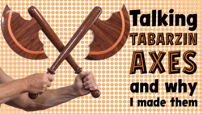 Tabarzin Battle Axes