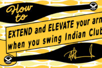 How to Elevate and Extend your arms when you swing Indian Clubs