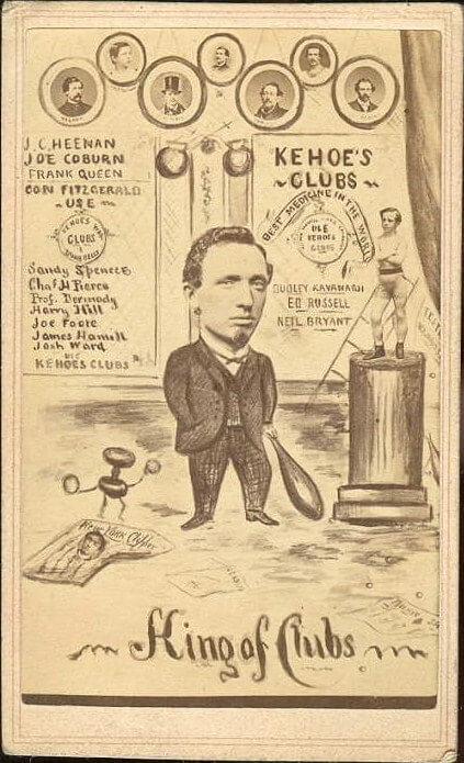 Sim D. Kehoe's business card