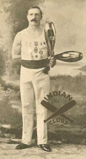 Tom Burrows, Australian endurance Indian Club Swinging champion