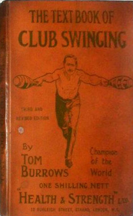 Text Book of Club Swinging 1900 by Tom Burrows 3rd edition