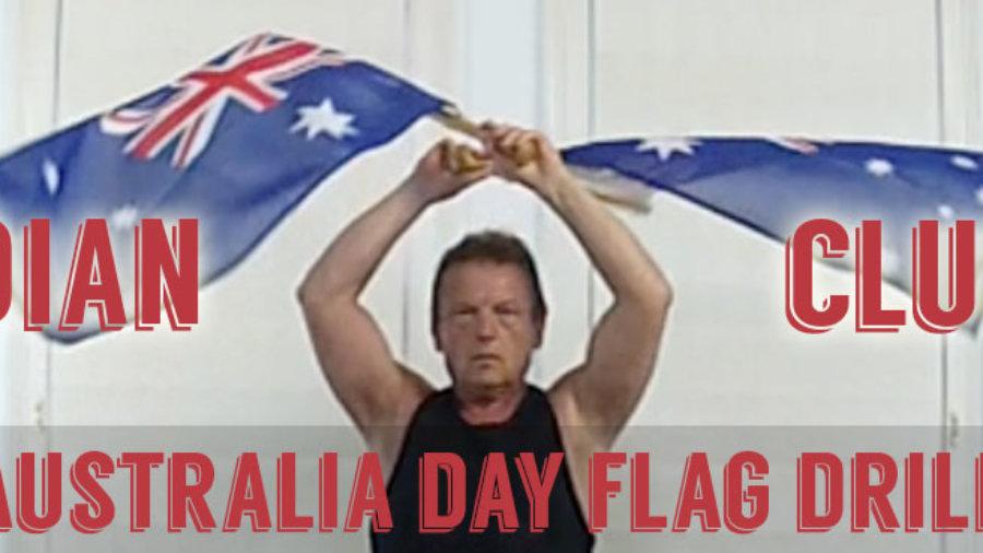 Australia Day Flag Drill Slider
