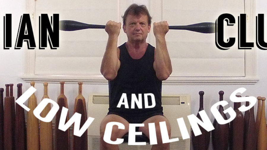 training with low ceilings slider
