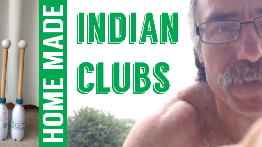 Home made Indian Clubs