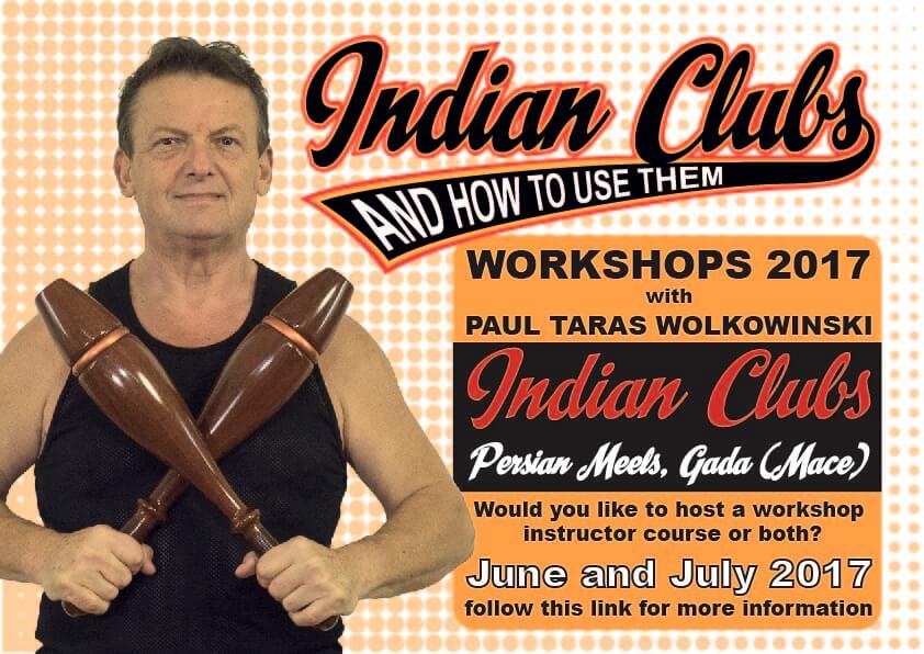Indian Club Workshop 2017