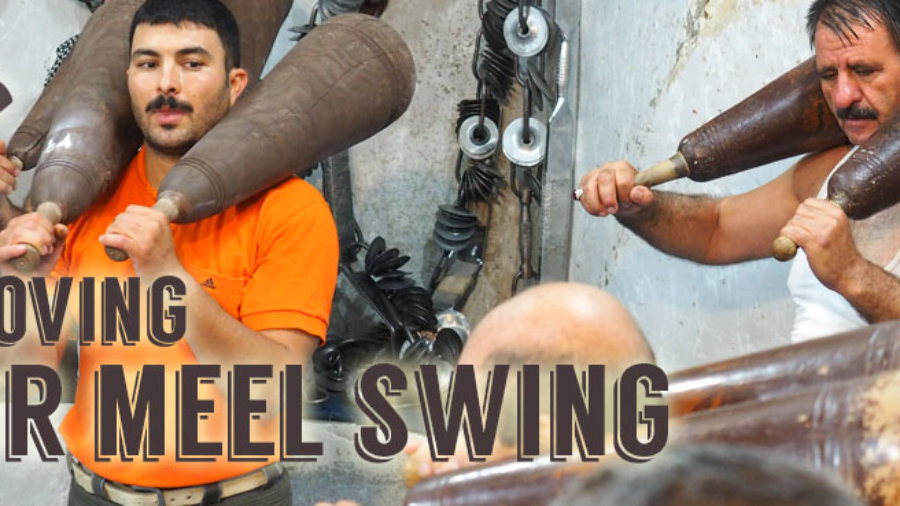 Persian Yoga three ways of improving your Meel swinging slider