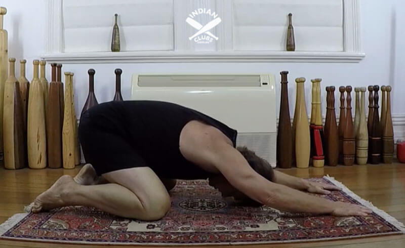 A common mistake and shoulder mobility Quadruped-down