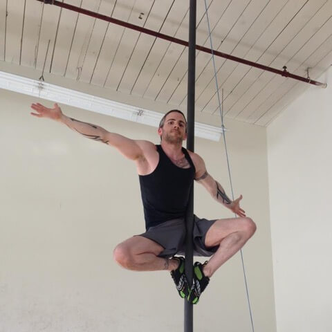 Nic Branson Chinese Pole