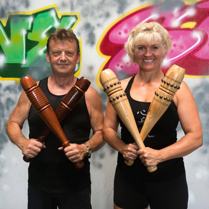 Dina Enggaard and Paul Tras Wolkowinski