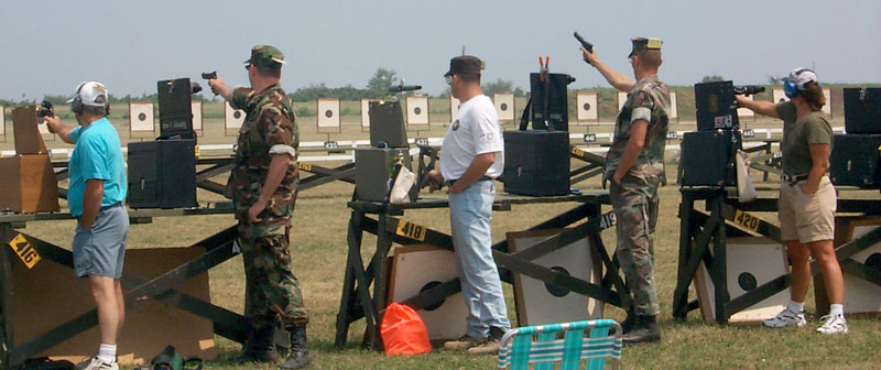 Mark Hogan Bullseye Pistol Shooting