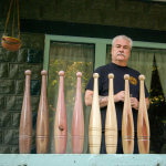 Mike Romiski with Indian Clubs