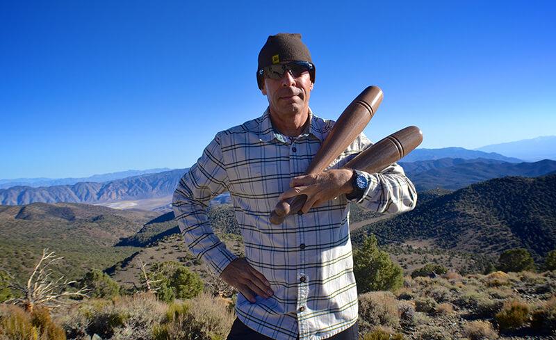 Ron Jones Indian Clubs Mountains