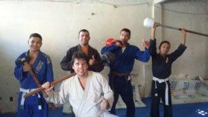 Julio Diniz Indian Clubs Jujitsu