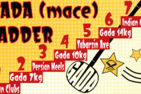 Gada Mace ladder style workout