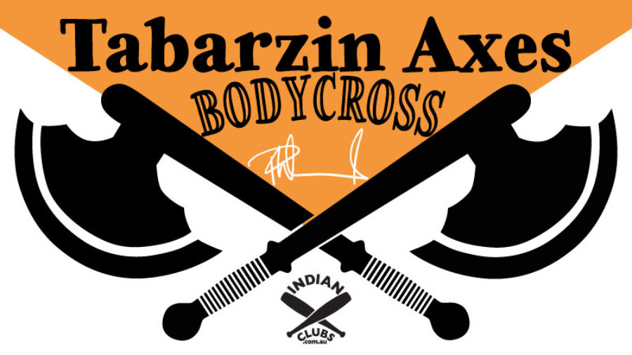 Tabarzin Axes Body Cross